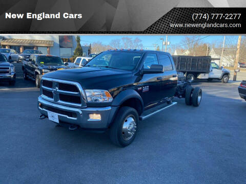 2016 RAM Ram Chassis 5500 for sale at New England Cars in Attleboro MA