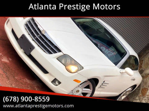 2005 Chrysler Crossfire for sale at Atlanta Prestige Motors in Decatur GA