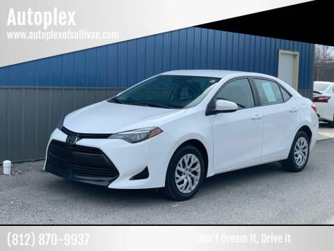 2018 Toyota Corolla for sale at Autoplex in Sullivan IN