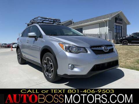 2014 Subaru XV Crosstrek for sale at Auto Boss in Woodscross UT