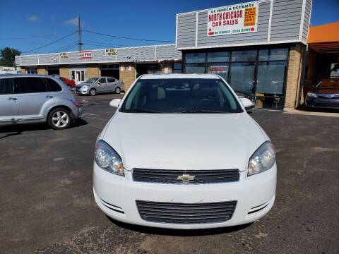 2012 Chevrolet Impala for sale at North Chicago Car Sales Inc in Waukegan IL