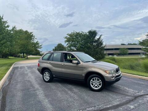 2004 BMW X5 for sale at Q and A Motors in Saint Louis MO