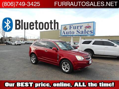 2014 Chevrolet Captiva Sport for sale at FURR AUTO SALES in Lubbock TX