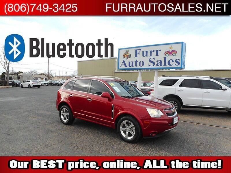 2014 Chevrolet Captiva Sport for sale at FURR AUTO SALES in Lubbock TX