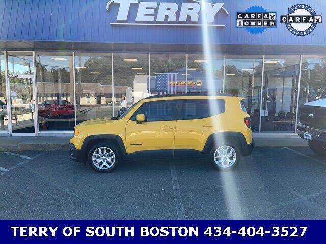 2018 Jeep Renegade for sale at Terry of South Boston in South Boston VA