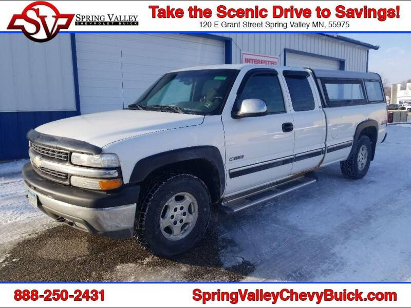 2002 Chevrolet Silverado 1500 for sale at Spring Valley Chevrolet Buick in Spring Valley MN