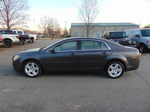 2011 Chevrolet Malibu for sale at CR Garland Auto Sales in Fredericksburg VA