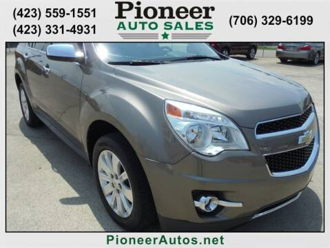 2011 Chevrolet Equinox for sale at PIONEER AUTO SALES LLC in Cleveland TN
