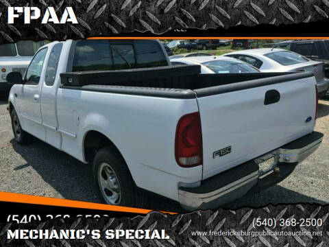 1997 Ford F-150 for sale at FPAA in Fredericksburg VA