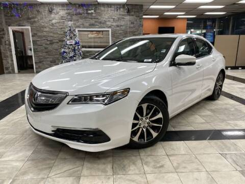 2017 Acura TLX for sale at Sonias Auto Sales in Worcester MA
