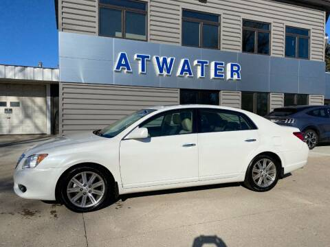 2010 Toyota Avalon for sale at Atwater Ford Inc in Atwater MN