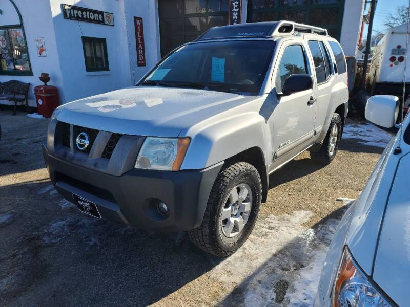 2005 Nissan Xterra for sale at Nelson's Straightline Auto in Independence WI