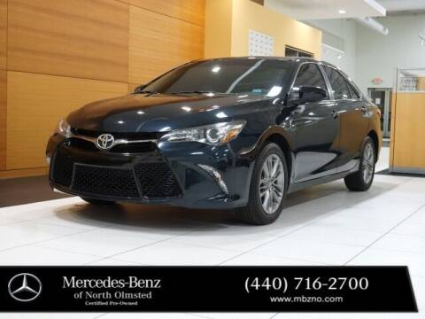 2017 Toyota Camry for sale at Mercedes-Benz of North Olmsted in North Olmstead OH
