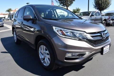 2016 Honda CR-V for sale at DIAMOND VALLEY HONDA in Hemet CA