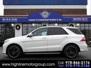 2015 Mercedes-Benz M-Class for sale at Highline Group Motorsports in Lowell MA
