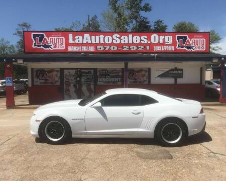 2015 Chevrolet Camaro for sale at LA Auto Sales in Monroe LA
