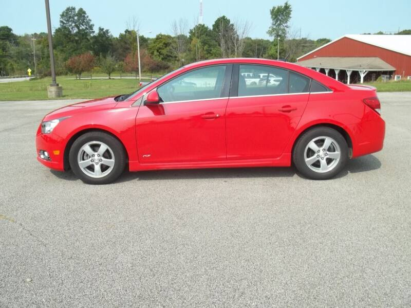 2014 Chevrolet Cruze for sale at Rt. 44 Auto Sales in Chardon OH