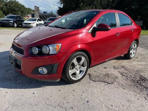 2012 Chevrolet Sonic for sale at Right Price Auto Sales-Gainesville in Gainesville FL