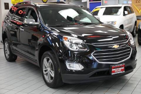 2016 Chevrolet Equinox for sale at Windy City Motors in Chicago IL