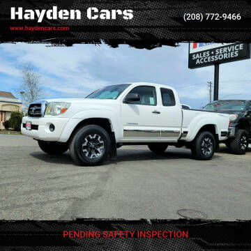 2006 Toyota Tacoma for sale at Hayden Cars in Coeur D Alene ID