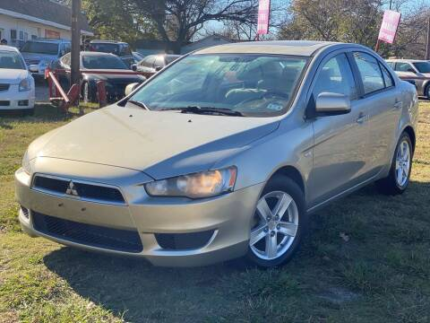 2008 Mitsubishi Lancer for sale at Texas Select Autos LLC in Mckinney TX