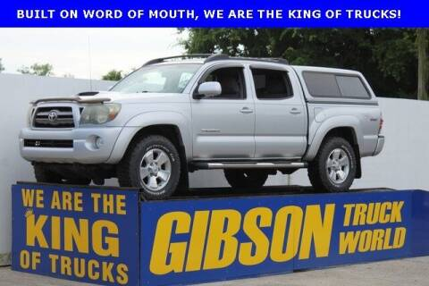 2010 Toyota Tacoma for sale at Gibson Truck World in Sanford FL