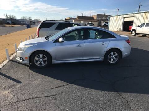 2013 Chevrolet Cruze for sale at Westok Auto Leasing in Weatherford OK
