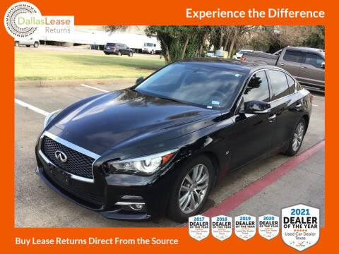 2015 Infiniti Q50 for sale at Dallas Auto Finance in Dallas TX