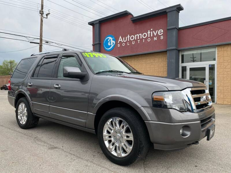 2013 Ford Expedition for sale at Automotive Solutions in Louisville KY