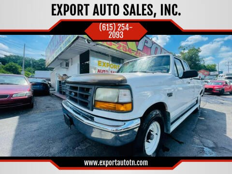1997 Ford F-250 for sale at EXPORT AUTO SALES, INC. in Nashville TN