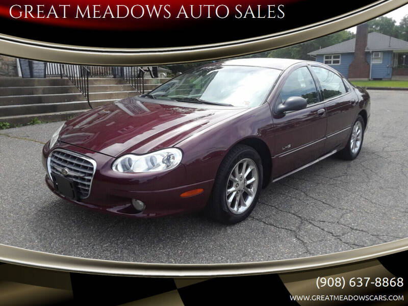 1999 Chrysler LHS for sale at GREAT MEADOWS AUTO SALES in Great Meadows NJ