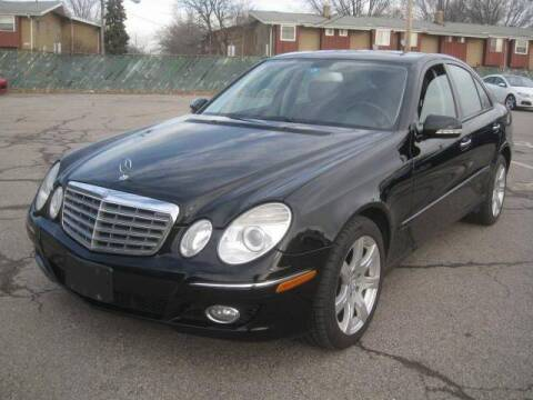 2008 Mercedes-Benz E-Class for sale at ELITE AUTOMOTIVE in Euclid OH