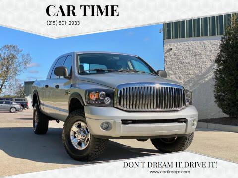 2007 Dodge Ram Pickup 2500 for sale at Car Time in Philadelphia PA