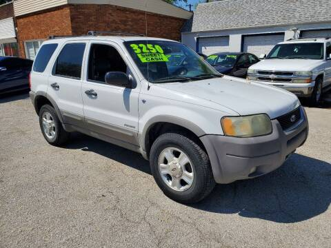 2002 Ford Escape for sale at Street Side Auto Sales in Independence MO