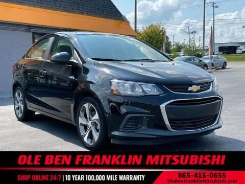 2019 Chevrolet Sonic for sale at Ole Ben Franklin Mitsbishi in Oak Ridge TN