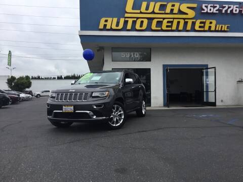 2014 Jeep Grand Cherokee for sale at Lucas Auto Center in South Gate CA