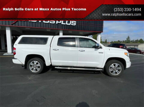 2017 Toyota Tundra for sale at Ralph Sells Cars at Maxx Autos Plus Tacoma in Tacoma WA