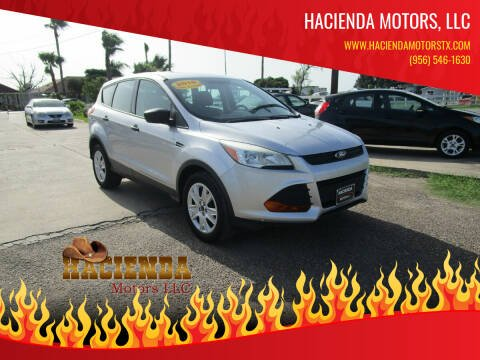 2016 Ford Escape for sale at HACIENDA MOTORS, LLC in Brownsville TX