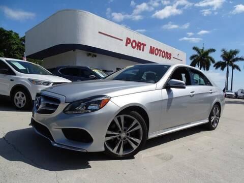 2015 Mercedes-Benz E-Class for sale at Port Motors in West Palm Beach FL
