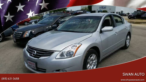 2012 Nissan Altima for sale at Swan Auto in Roscoe IL