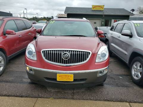 2012 Buick Enclave for sale at Brothers Used Cars Inc in Sioux City IA