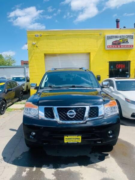 2012 Nissan Armada for sale at Hartford Auto Center in Hartford CT