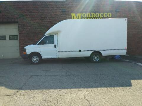 2012 Chevrolet Express Cutaway for sale at Morrocco Motors in Erie PA