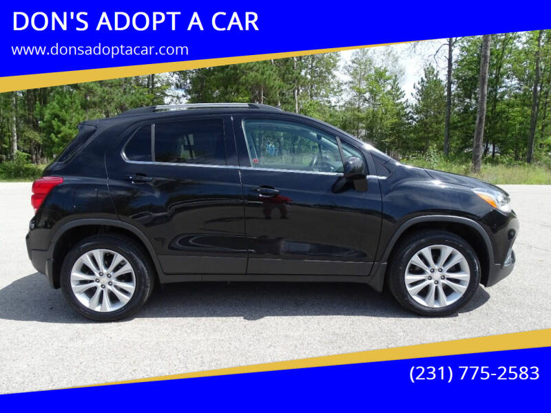 2017 Chevrolet Trax for sale at DON'S ADOPT A CAR in Cadillac MI