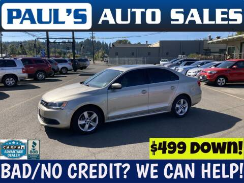 2014 Volkswagen Jetta for sale at Paul's Auto Sales in Eugene OR