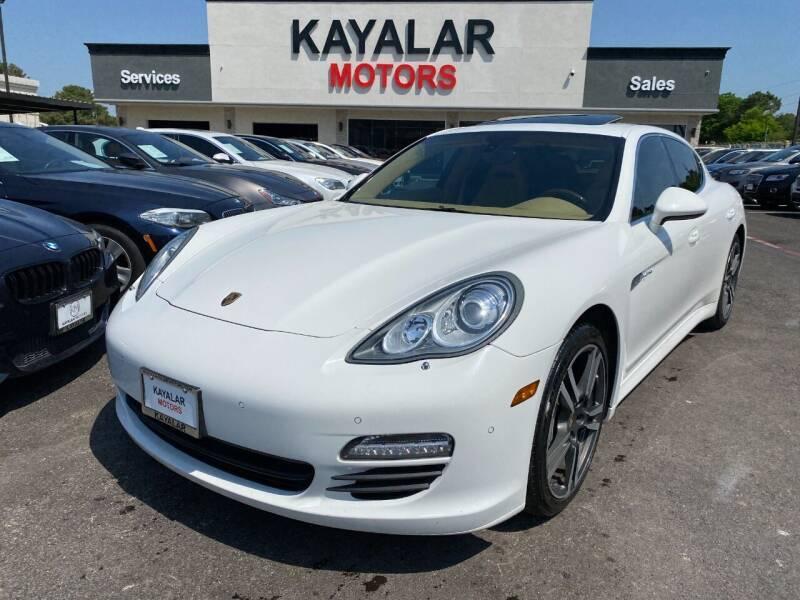2012 Porsche Panamera for sale at KAYALAR MOTORS in Houston TX