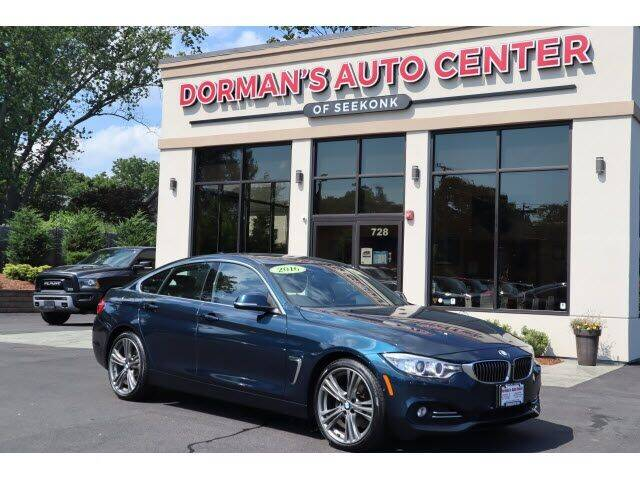2016 BMW 4 Series for sale at DORMANS AUTO CENTER OF SEEKONK in Seekonk MA