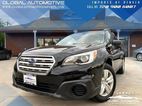 2016 Subaru Outback for sale at Global Automotive Imports of Denver in Denver CO