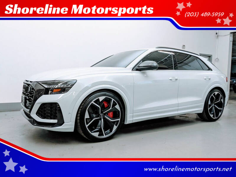 2020 Audi RS Q8 for sale at Shoreline Motorsports in Waterbury CT