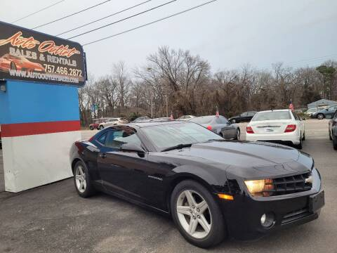 2012 Chevrolet Camaro for sale at Auto Outlet Sales and Rentals in Norfolk VA